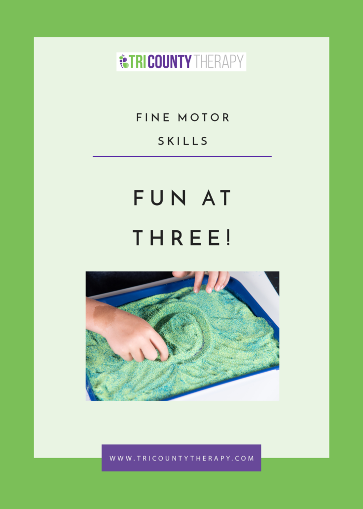 Fine Motor Skills: Preschool Readiness, Fun at Age 3