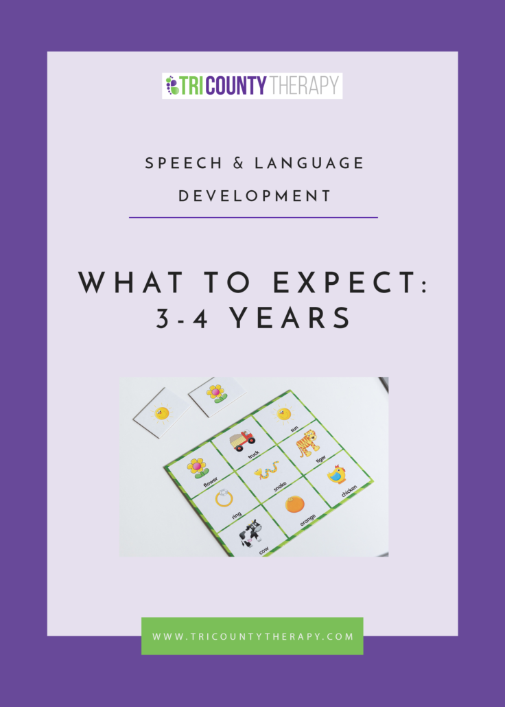 Speech & Language Development: What to Expect, 3-4 Years Old