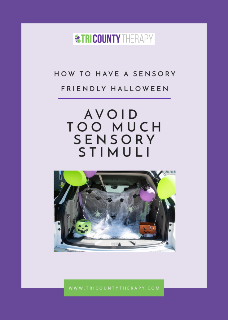 How To Have A Sensory-Friendly Halloween: Avoid Too Much Sensory Stimuli