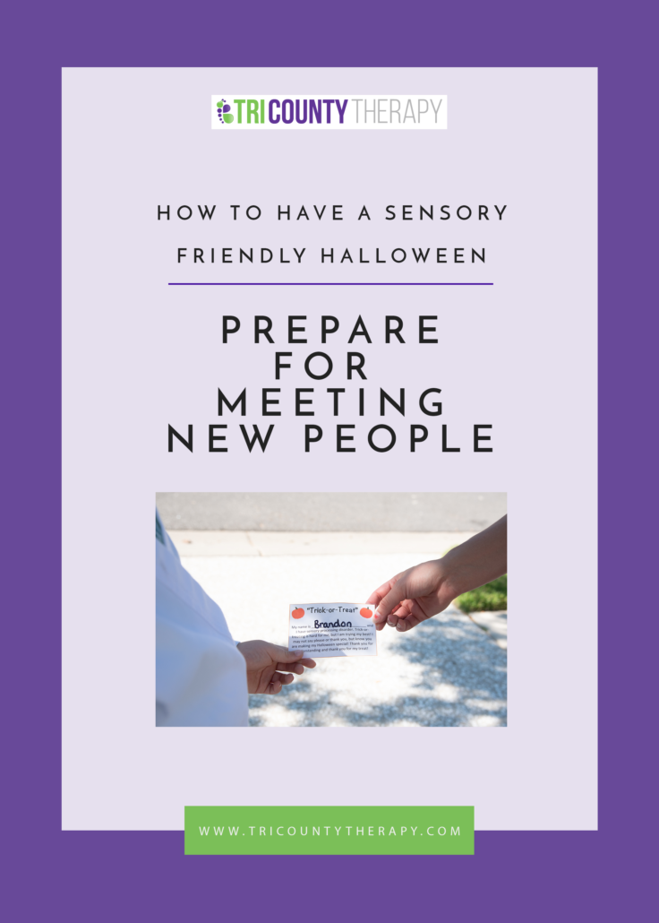 How To Have A Sensory-Friendly Halloween: Prepare For Meeting New People