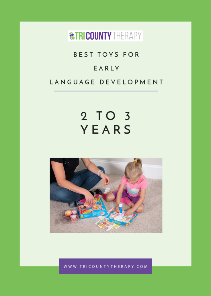 Best Toys for Early Language Development: 2 to 3 Years
