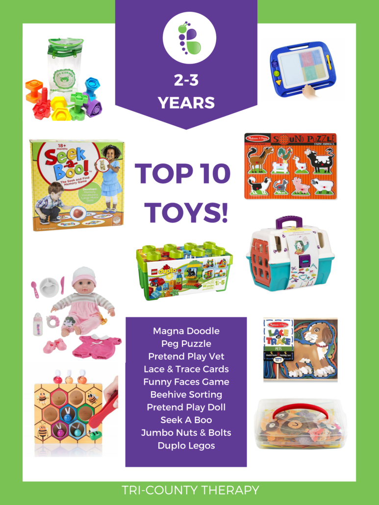 Top Toy Picks: 2-3 Years