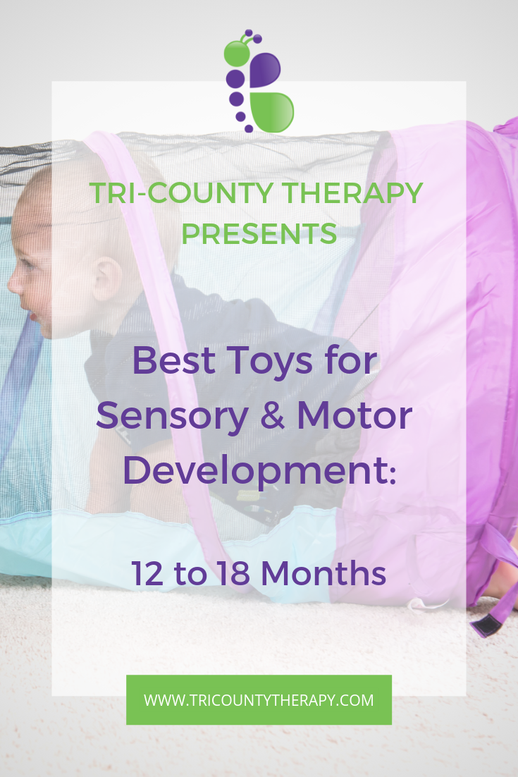 Best sensory and motor toys from Tri-County Therapy