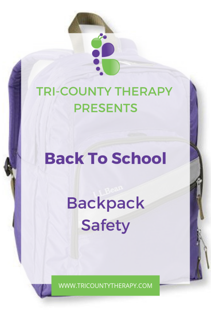 Back to School Slump: Backpack Safety